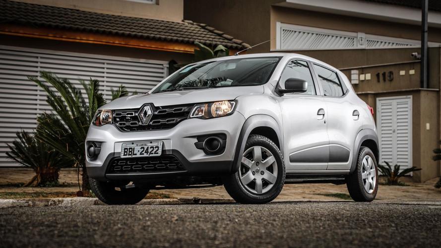Renault Kwid já é o sexto mais vendido em setembro