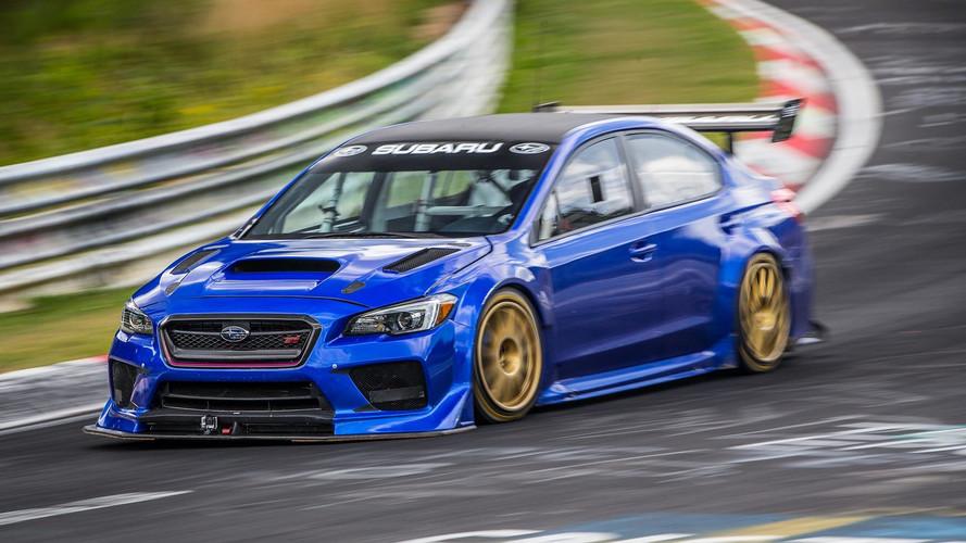 Subaru Sets Fastest Lap Record For A Sedan At Nürburgring