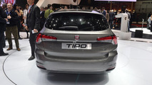 Fiat Tipo estate live in Geneva