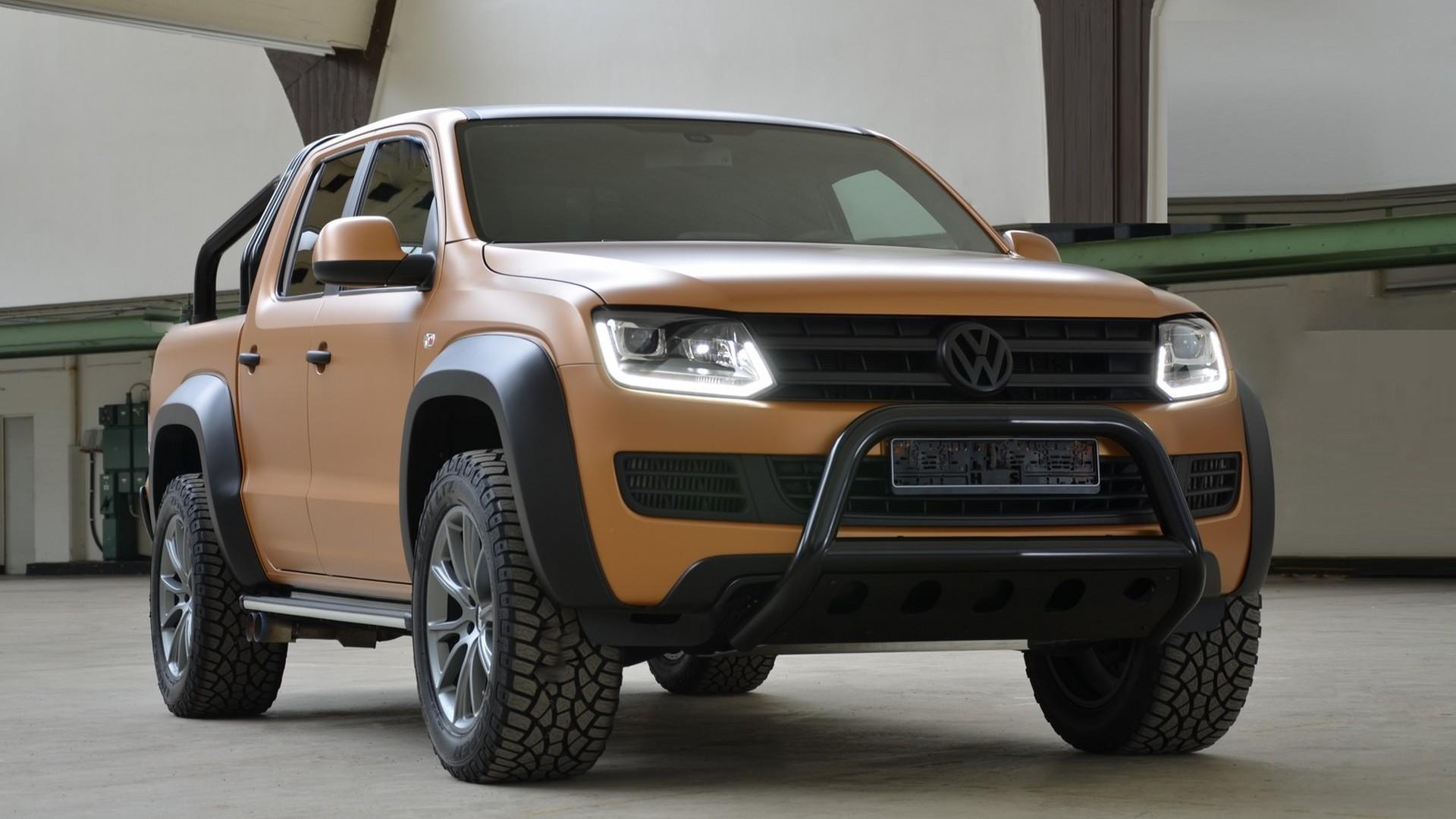 Vw Amarok V8 Passion Desert Edition Unveiled Costs 217k