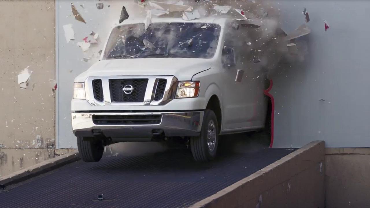 Nissan NV Cargo Van drift machine