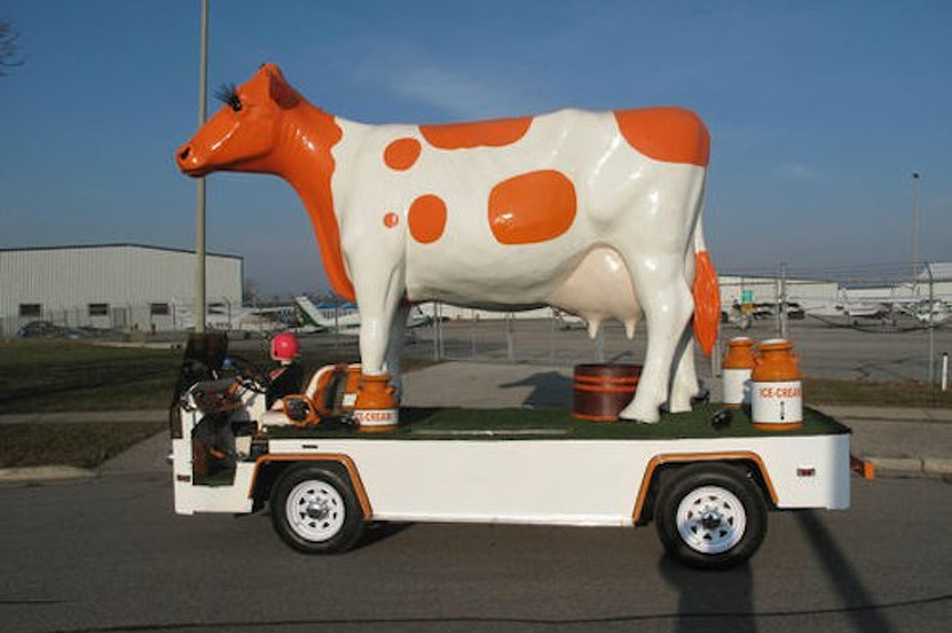 eBay Car of the Week: Anyone Want This Giant Cow Car?