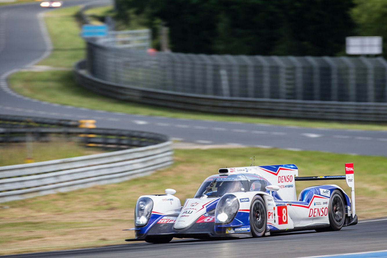Toyota Finishes Le Mans Testing in 1st and 2nd