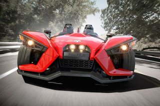 Polaris Slingshot: America's Three-Wheeled Track Toy [w/Video]
