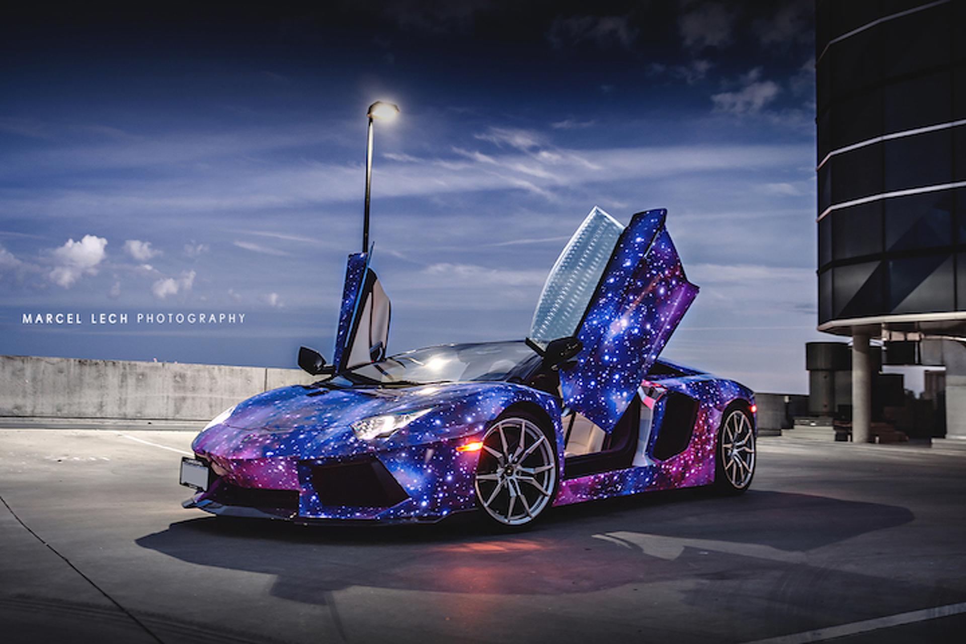 Lamborghini Aventador Galaxy Would Make Neil DeGrasse Tyson Blush