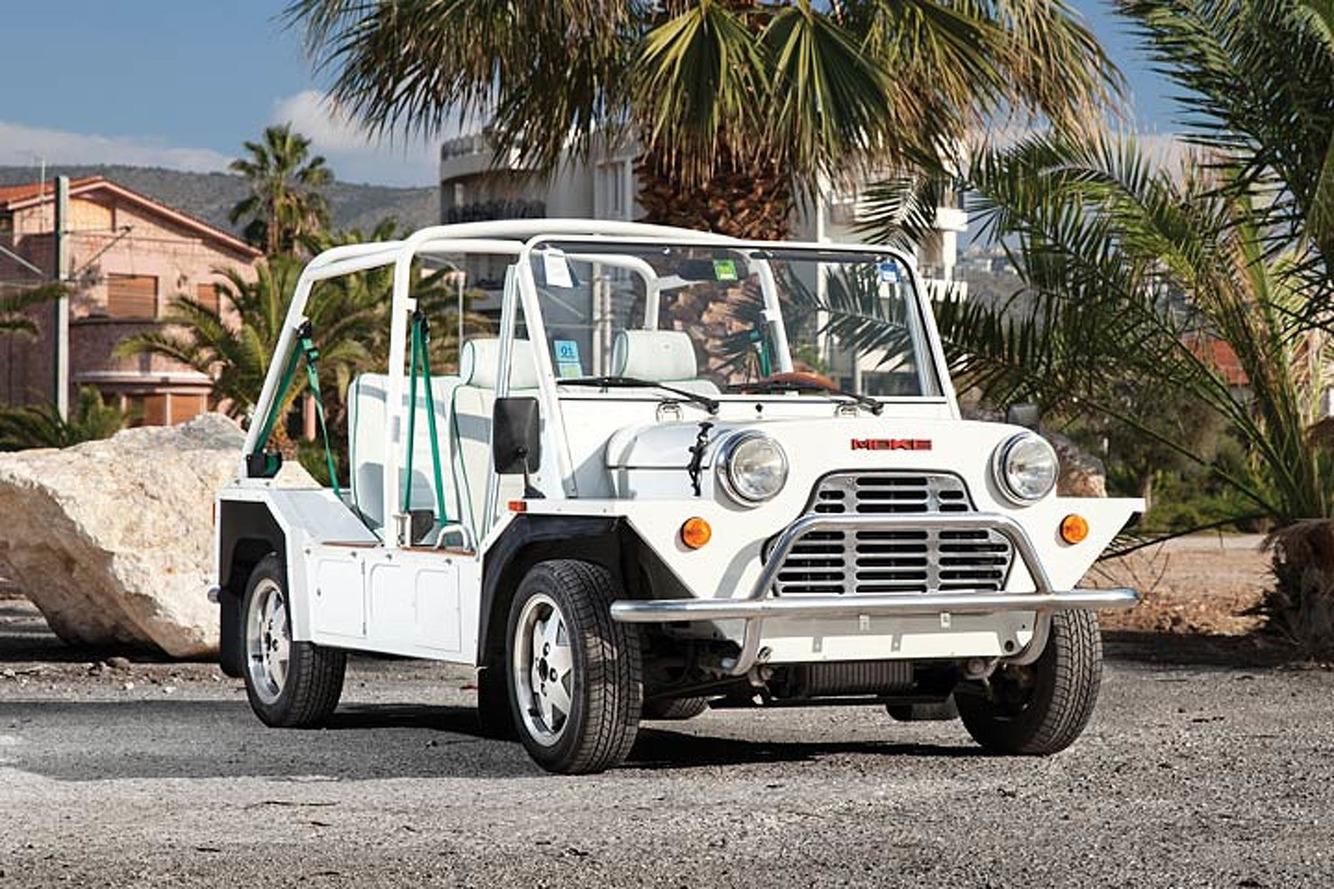 Need a Beach Cruiser? The Answer is a Cagiva Moke