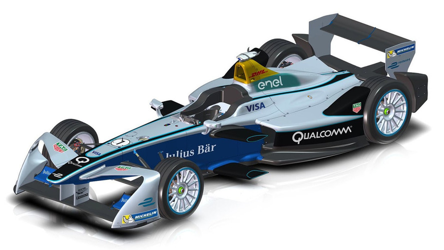 Bold new look for Formula E car
