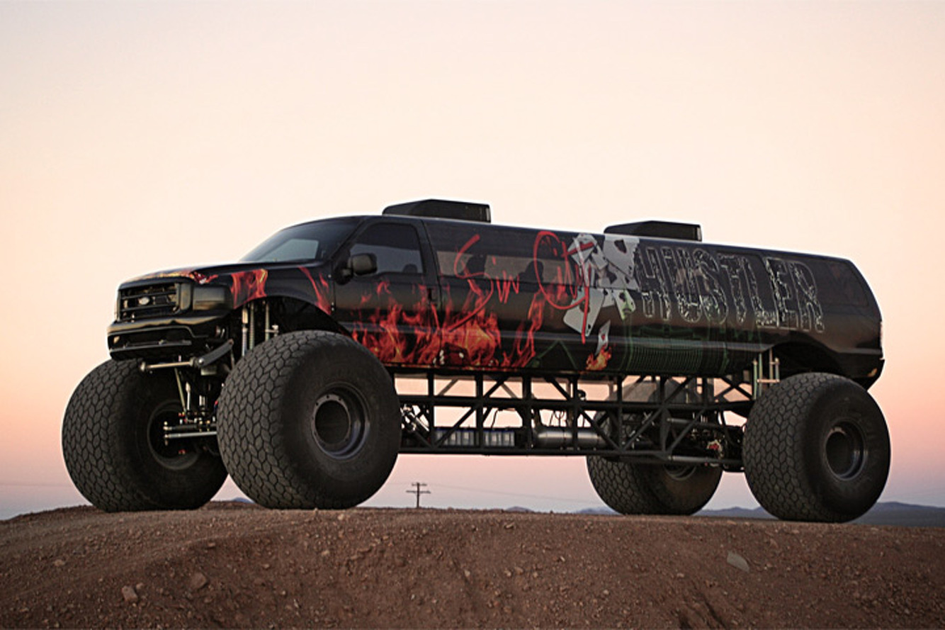 Got $1 Million to Spend? This Limousine Monster Truck Might Be For You
