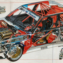 Car Cutaways You'll Want for Your Office Wall