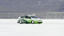 Landspeed Prius Races Across Bonneville Salt Flats