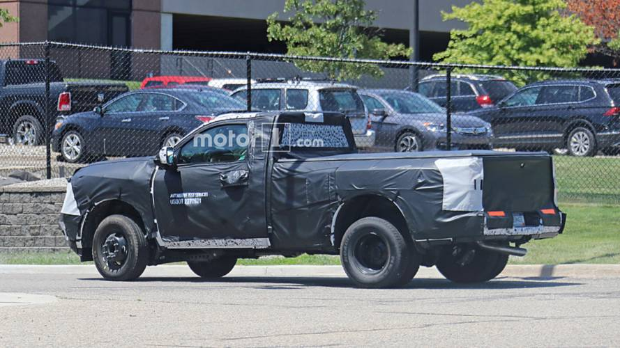 Ram 2500 Concept >> 2020 Ram 2500 HD Dually Spy Photos | Motor1.com Photos