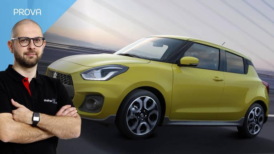Suzuki Swift Sport, sportiva come quelle di una volta