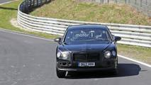 2019 Bentley Flying Spur Nurburgring'de