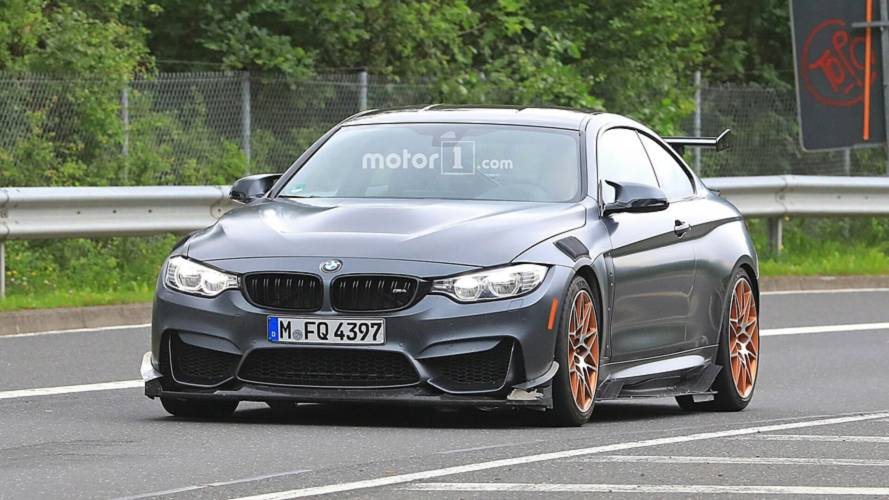 BMW M4 GTS, aerodinamik kiti ile test edilirken görüntülendi