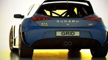 Subaru WRX STI artist 3D rendering