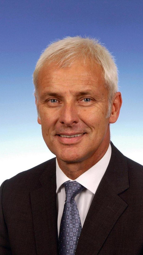 Matthias Müller named CEO of Volkswagen