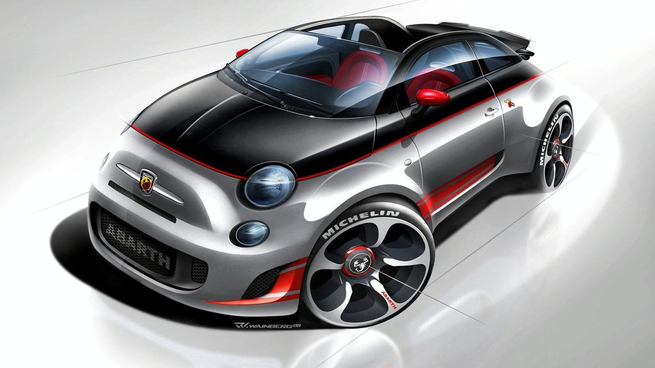 Abarth 500C first photos 24.02.2010