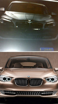 BMW F10 5-Series leaked brochure image collage