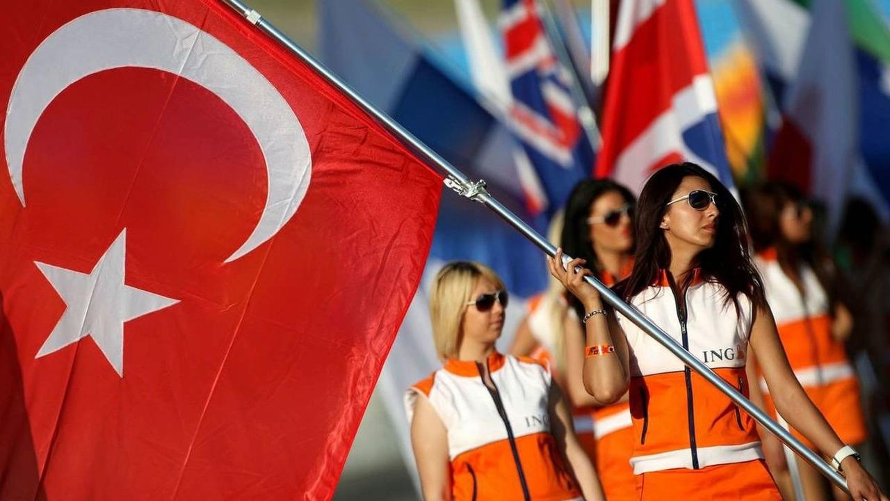 grid girls, Turkish Grand Prix, Istanbul, Turkey, 06.06.2009