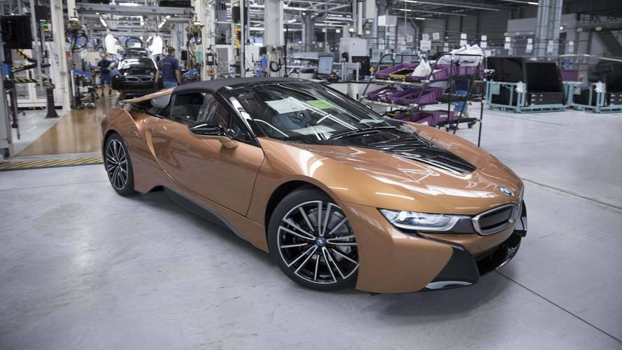 BMW i8 Roadster gyártás