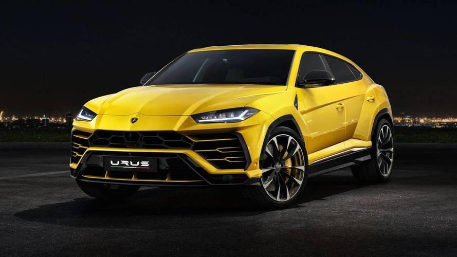 3. Lamborghini Urus – 3.6 secondes