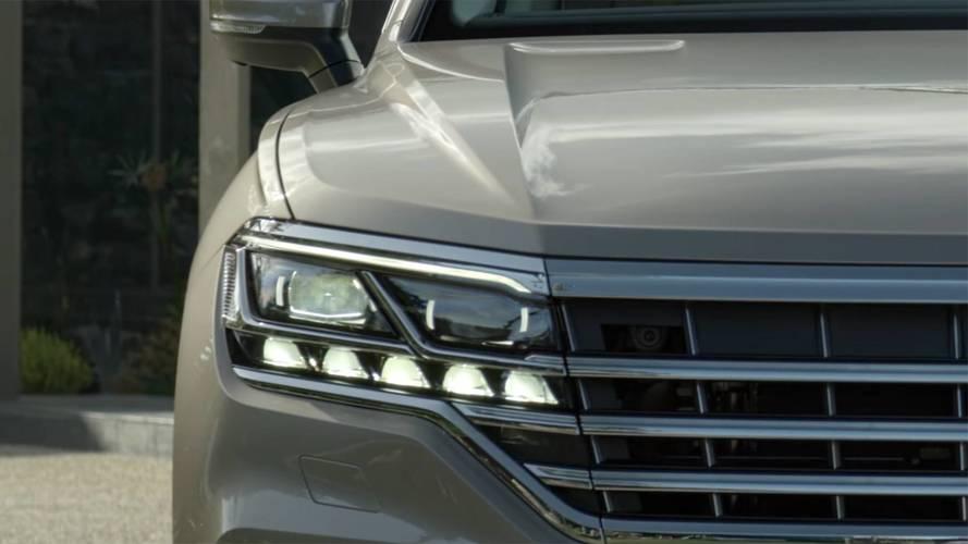Nuova Volkswagen Touareg, il video teaser prima del debutto
