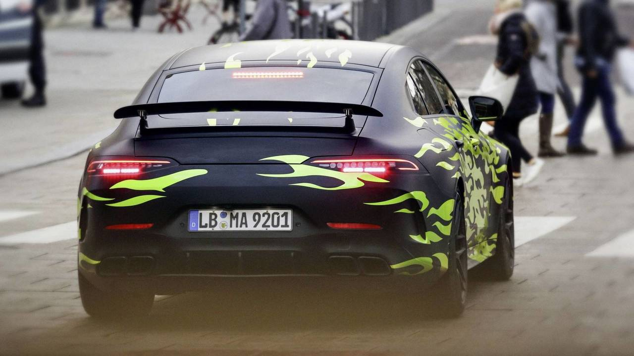 Mercedes-AMG Four-Door GT Coupe teaser
