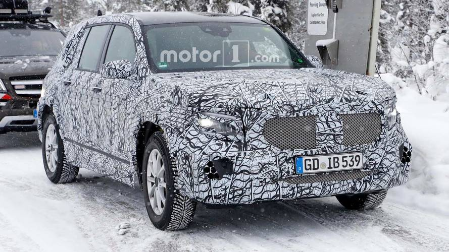 Mercedes-Benz GLB-Serisi Casus Fotoğraflar