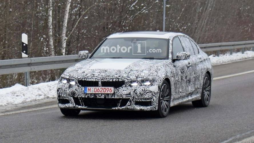 2018 BMW 3 Serisi M-Sport daha az kamuflajla görüldü