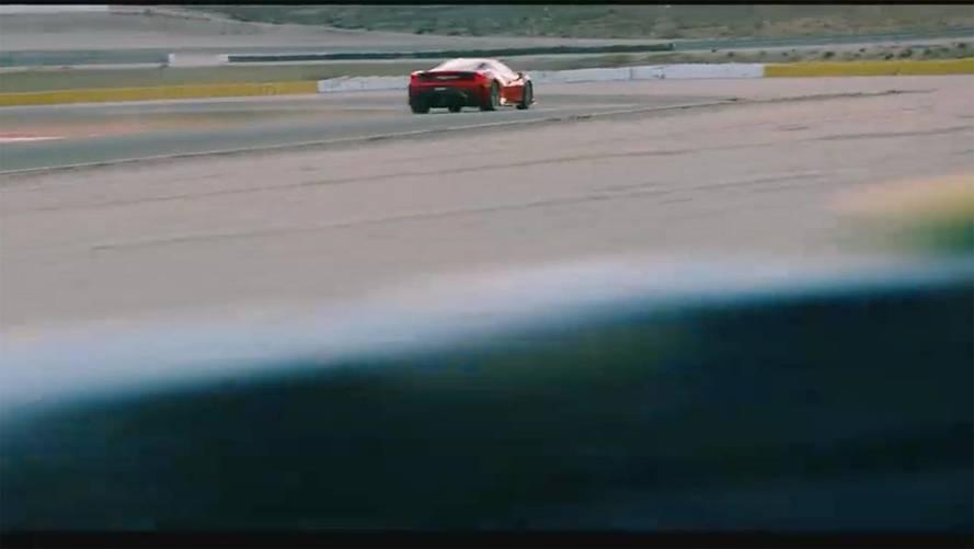 Ferrari 488 Speciale/GTO Teaser