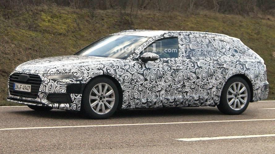 Photos espion - La prochaine Audi A6 Avant s'affûte