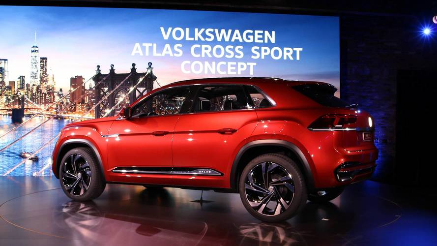 Volkswagen Atlas Cross Sport Concept Previews New Five