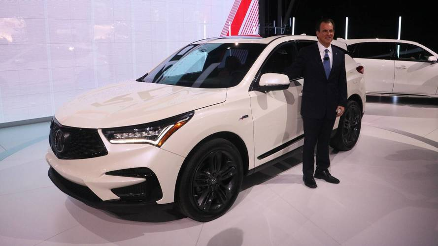2019 Acura RDX Debuts All-New Design In New York