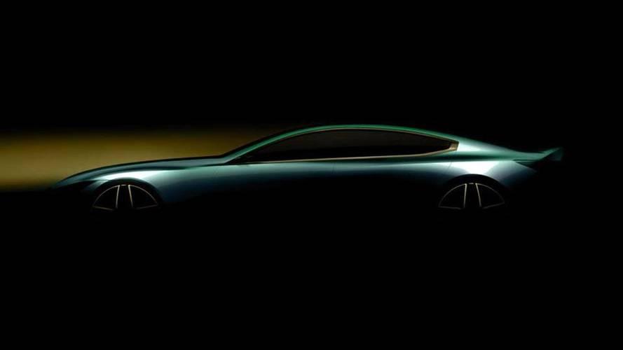 BMW 8 Serisi Gran Coupe'nin teaser'ı yayınlandı