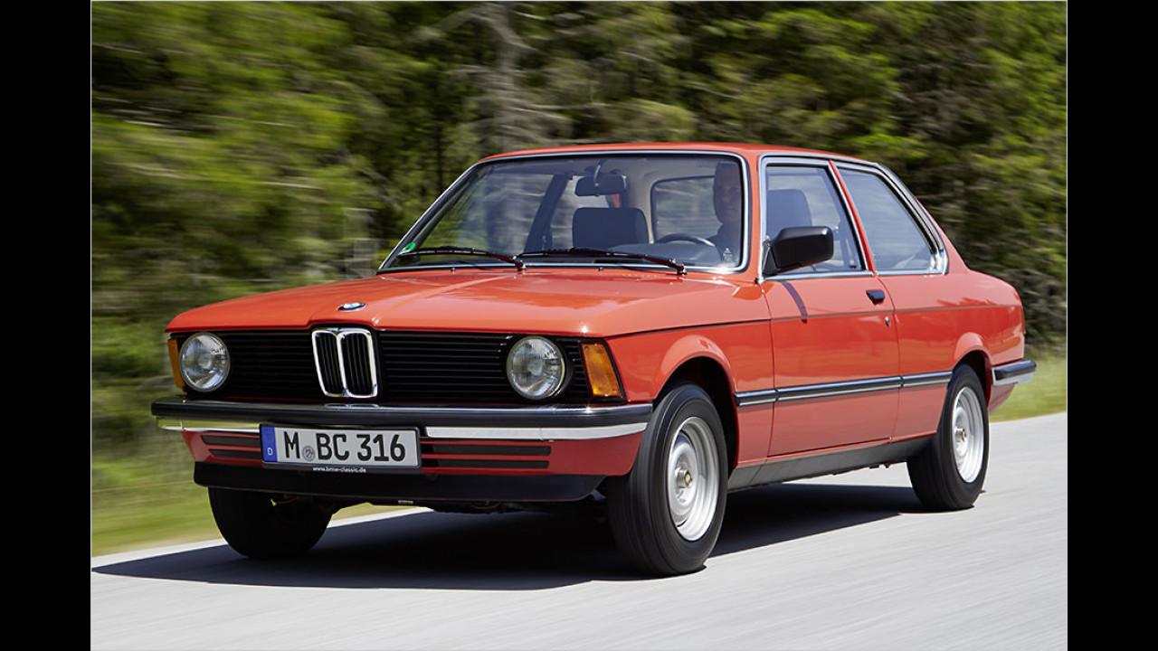 1975: Der erste BMW 3er