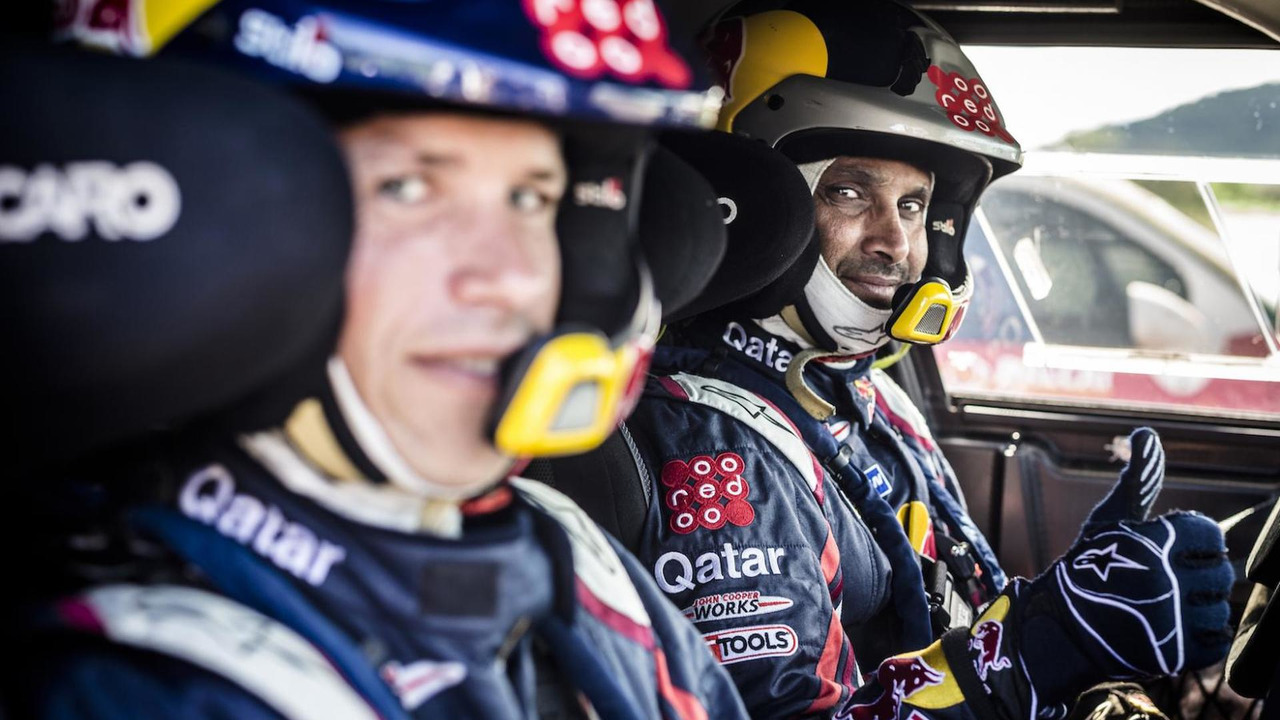 Nasser Al-Attiyah (QT) - MINI ALL4 Racing # 301