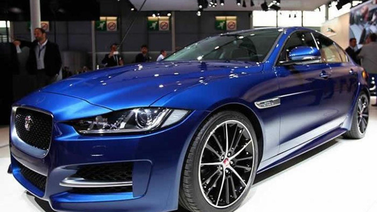 Jaguar XE at 2014 Paris Motor Show