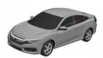 Next generation Honda Civic Sedan patent sketch