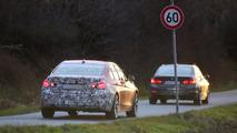 BMW 3-Series facelift spy photo