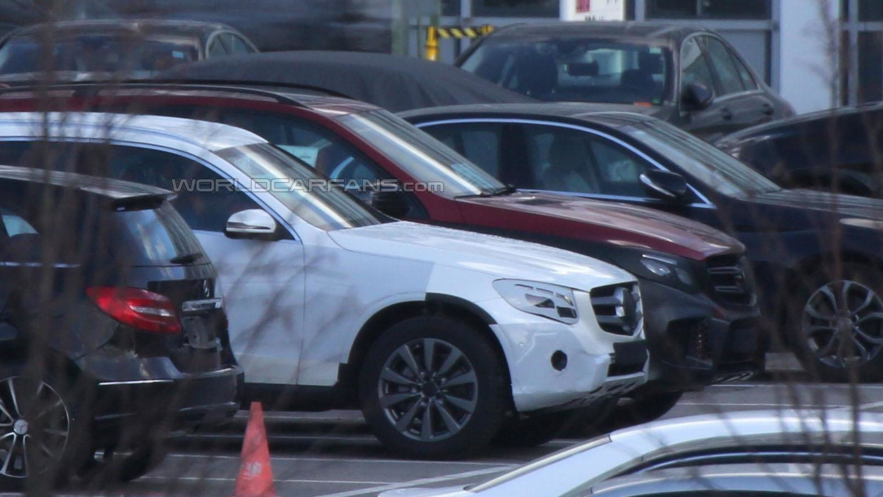 2016 Mercedes GLC spy photo