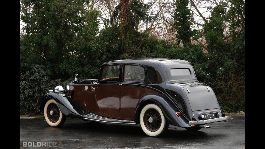Rolls-Royce 25/30 Sport Saloon by Hooper