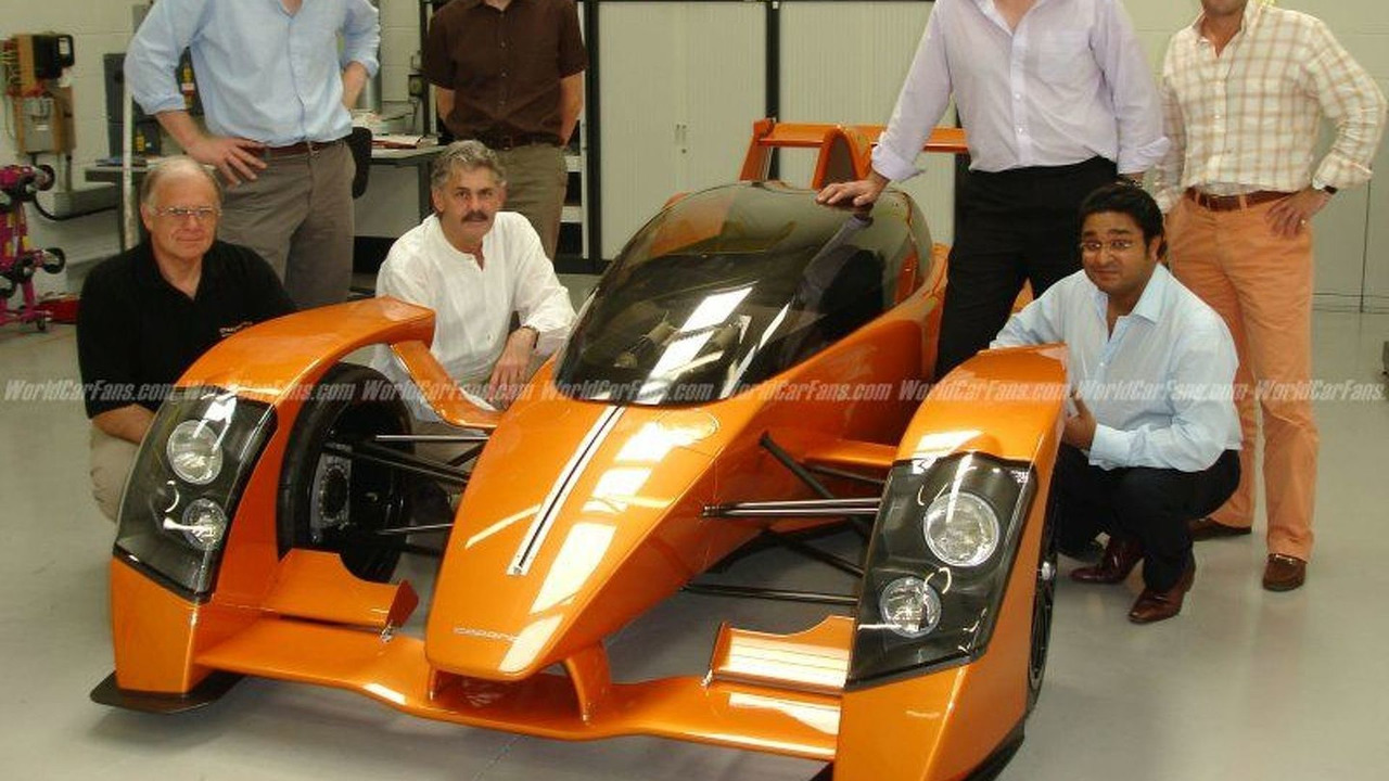 Gordon Murray Joins Caparo