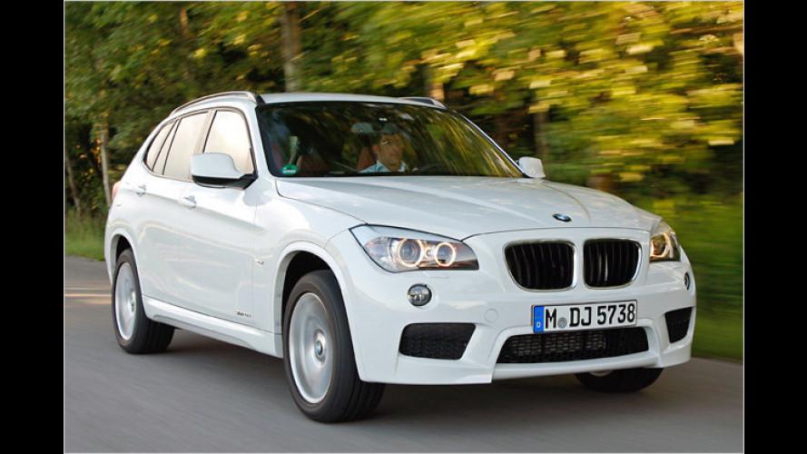 BMW X1: Neue Motoren