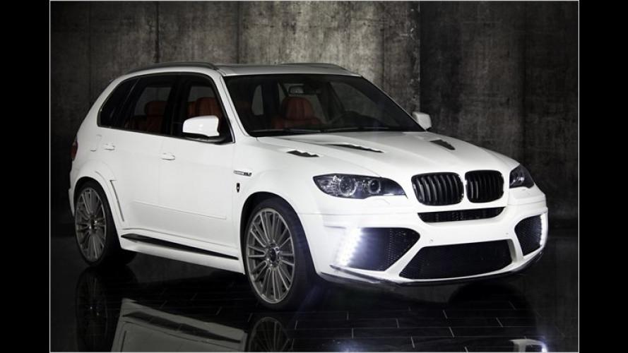 Große Nüstern, breite Statur: BMW X5 von Mansory