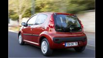 Peugeot liftet den 107