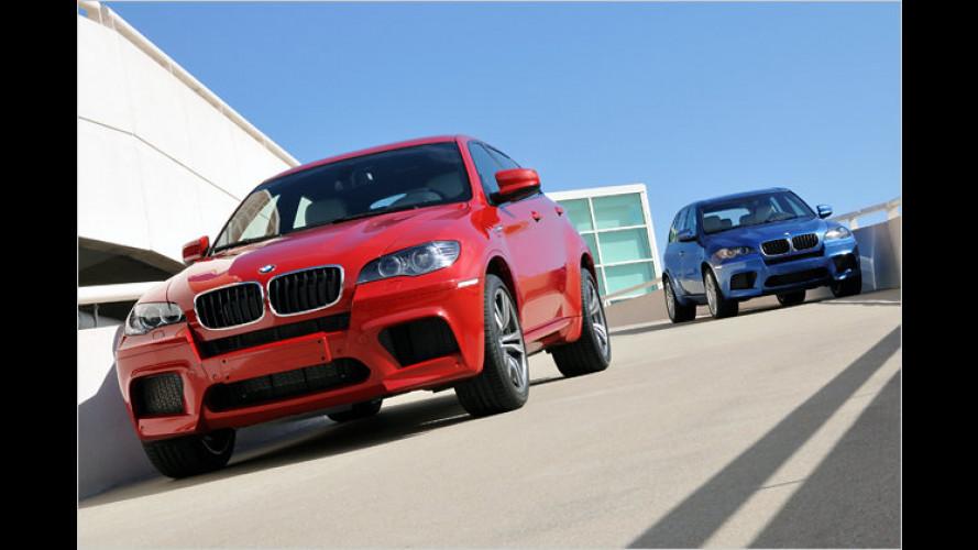 M-ehr Power für X5 und X6: BMW lässt die Power-SUVs los