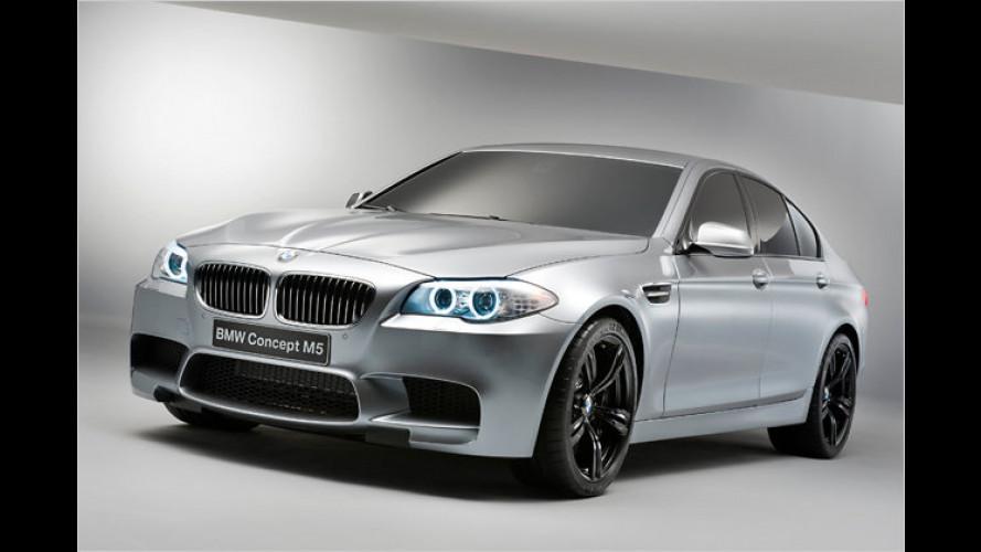Starkes Stück: BMW Concept M5 debütiert in Shanghai