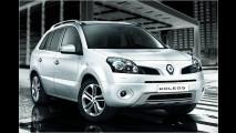 Renaults in Schwarz-Weiß