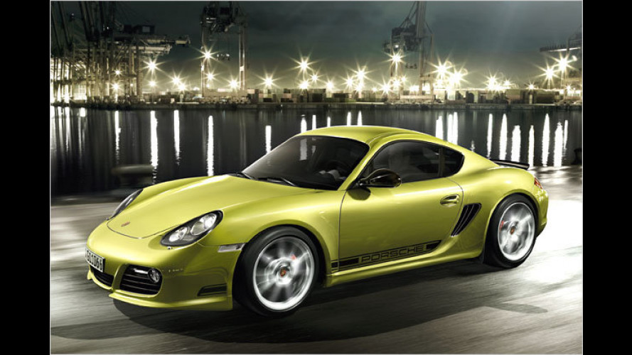 Porsche Cayman R: Leichter und bissiger