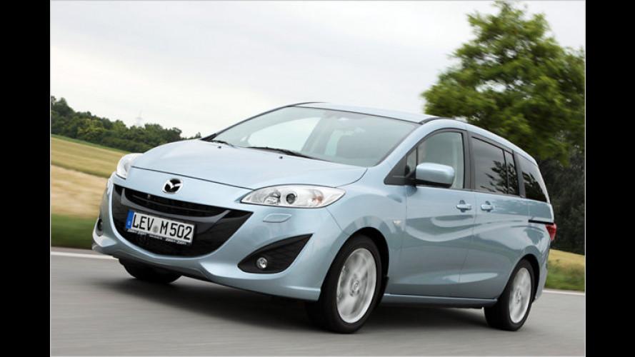 Fließender Übergang: Der neue Mazda 5 im Erstkontakt